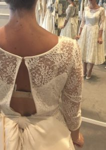 Op maat maken vintage bruidsjurk