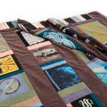 Quilt van t-shirts